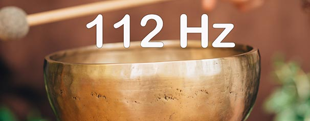 TIBETAN BOWL 112 Hz - Help to promote healing and well-being. Allow this 112Hz frequency to help relax the body - Healing Courses Online