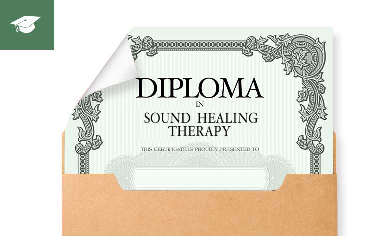 Diploma Certificate - Bio Sound Healing Therapy Masterclass Online Training Course