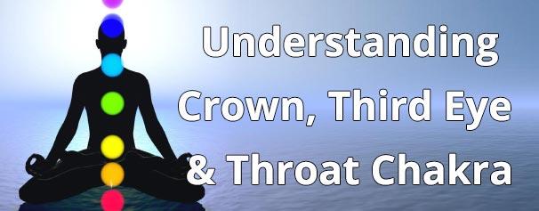 Understanding the Crown, Third Eye & Throat Chakra - Chakra Energy Healing Audio - Healing Courses Online